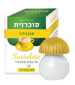 סוכרזית סוכרלוז 300 טבליות