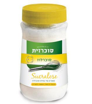 סוכרזית סוכרלוז כפית לכפית