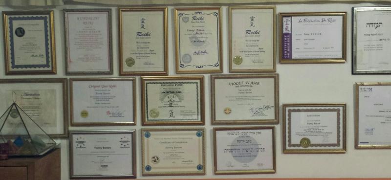 Diplomes Reiki