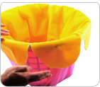 """Petal Lining"" for Inside of the Basket"