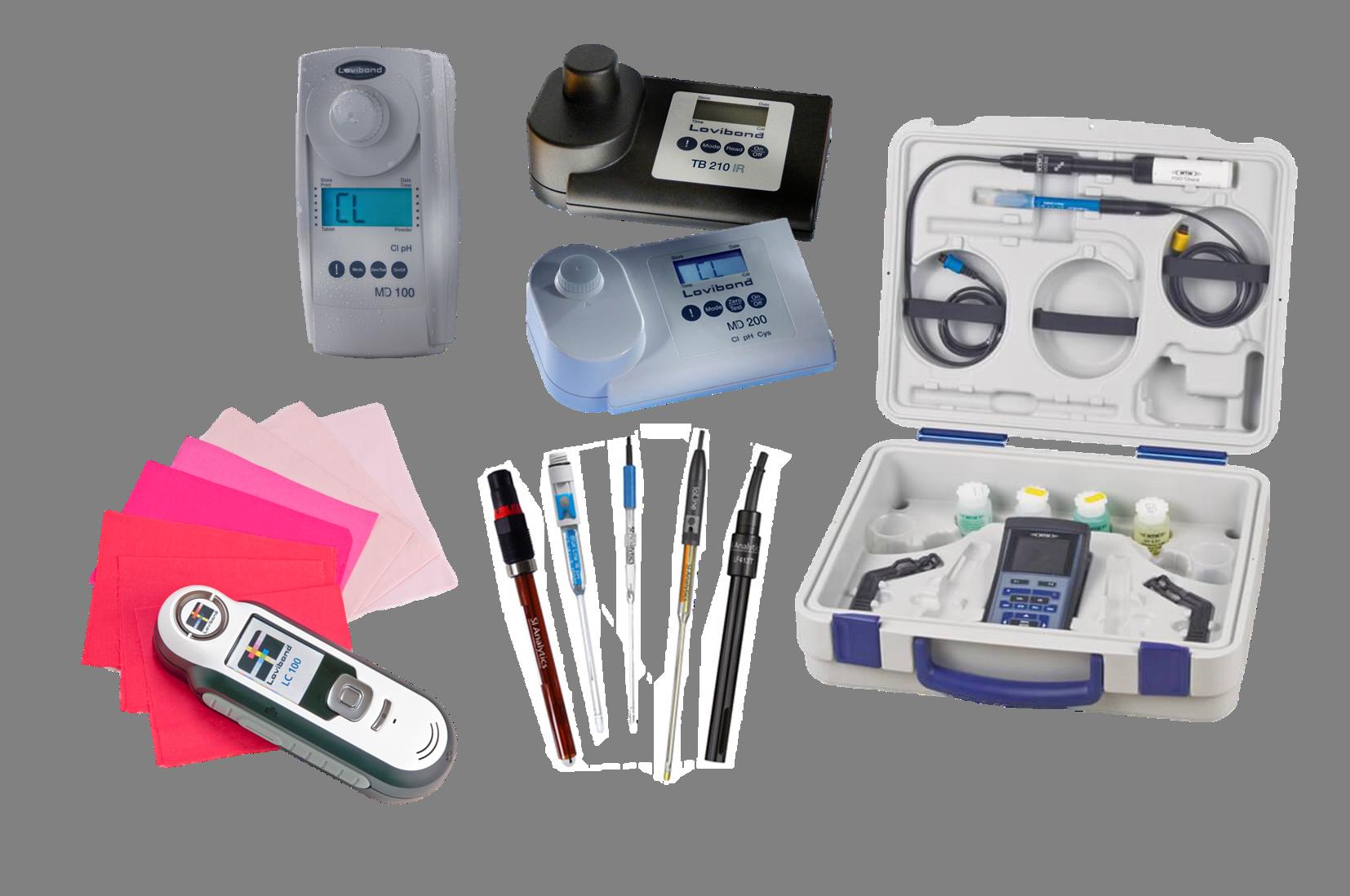 תמונת קטגוריה - מדידות אנליטיות מעבדתיות - מכשירים