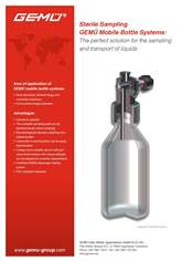 Gemu - Sampling Bottle System - flyer